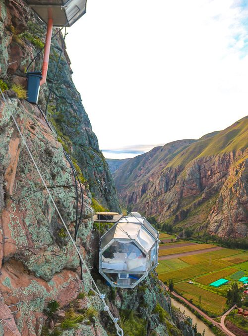 Is This The Coolest Hotel Ever? Skylodge Adventure Suites
